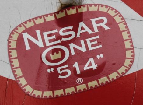 Nesar One sticker