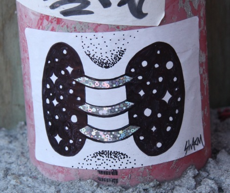 Swarm sticker or small paste-up