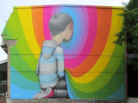 Seth mural for Mural Festival 2014
