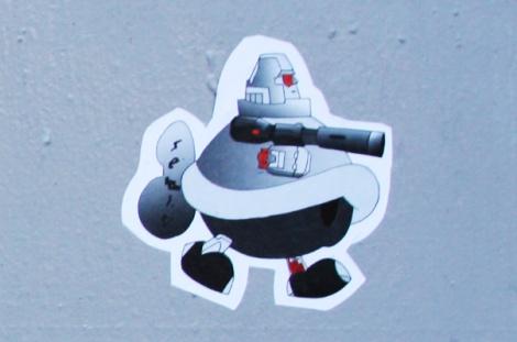 tiny Turtle Caps sticker
