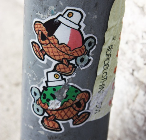 Turtle Caps stickers