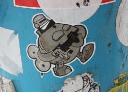 Turtle Caps paste-up