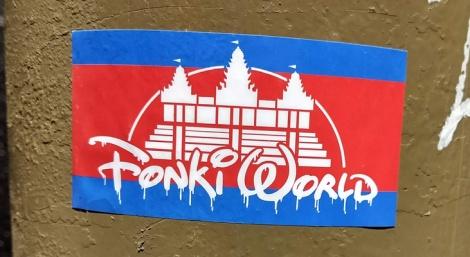 Fonki sticker