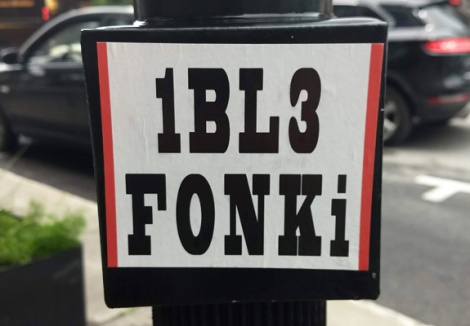 1BL3 and Fonki joint sticker