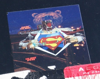 Graffiti Knight sticker