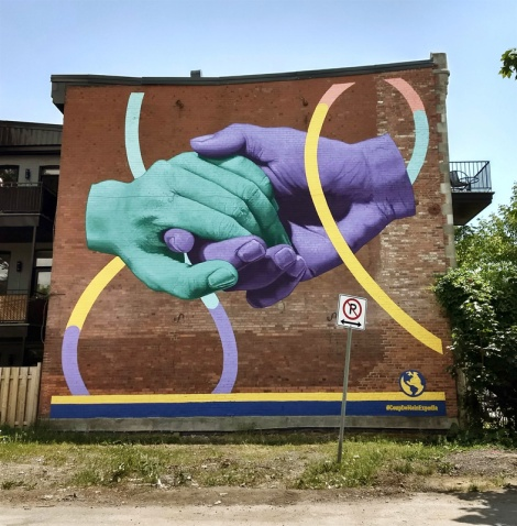 Kevin Ledo mural in the Plateau