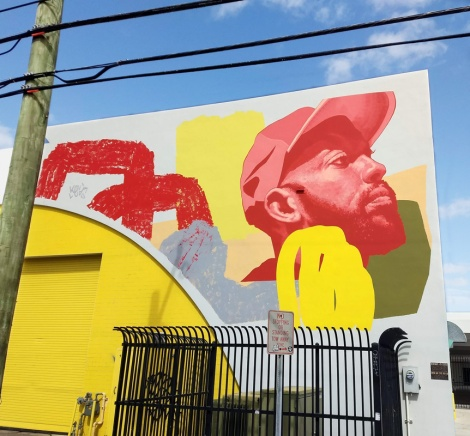 Kevin Ledo in Wynwood Miami for the 2019 edition of Art Basel