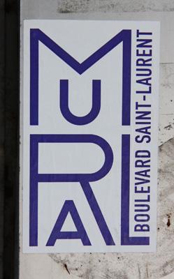 Mural Festival promotional sticker