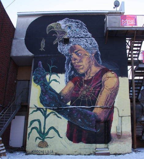 mural by LNY for the 2013 edition of Mural Festival