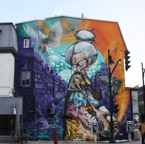 mural by A'Shop for the 2013 edition of Mural Festival