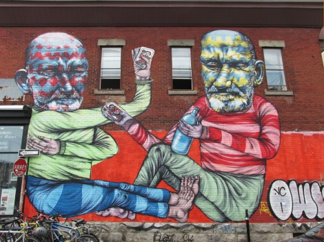 mural by Other for the 2013 edition of Mural Festival