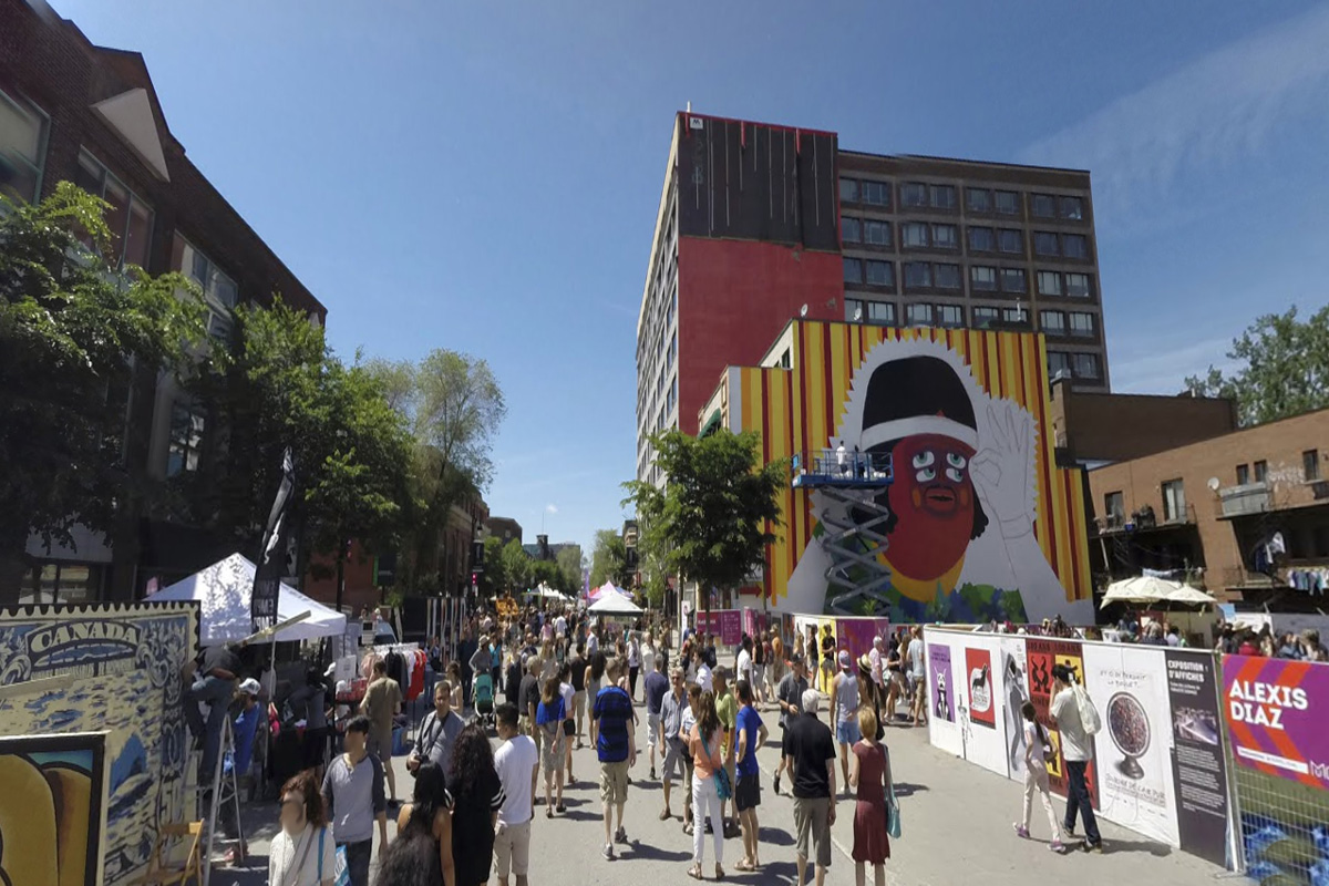 Mural festival 2014 wall2wall montreal for Air climatise mural montreal