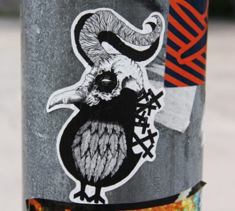 Sticker by ROC514 in collaboration with Zombiac