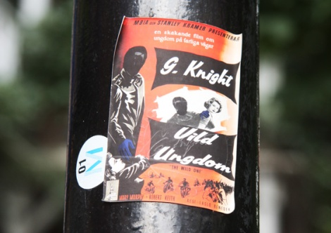 G.Knight sticker