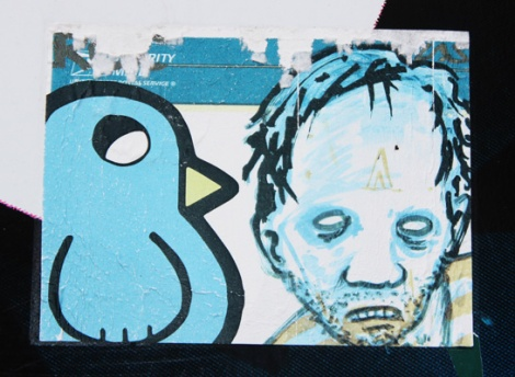 sticker collaboration between ROC514 and Zombie Art Squad
