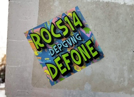 ROC514 and DEF sticker