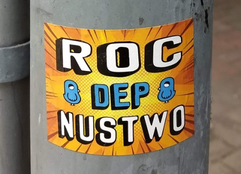 ROC514 and Nustwo collaboration sticker