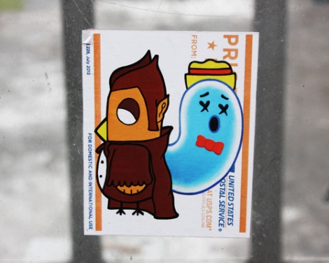 collaboration sticker between ROC514 and XRAY