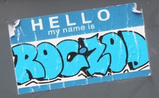 collaboration sticker between ROC514 and Zodiak