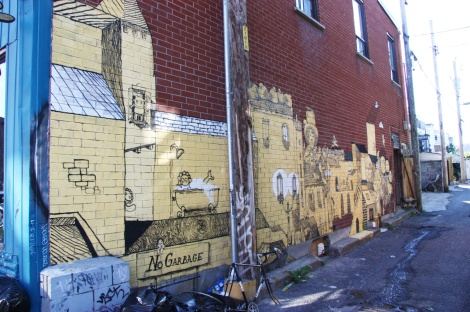 Vilx in a Plateau End alley
