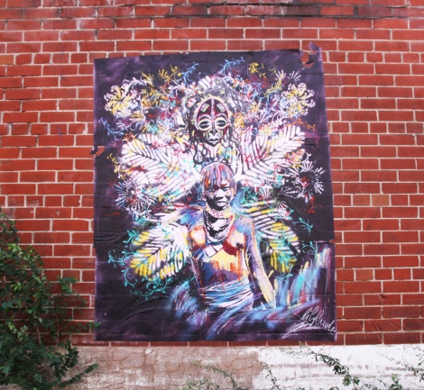 large Lily Luciole poster in Mile End
