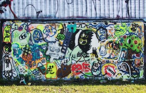 Nixon 'mural' in Rosemont