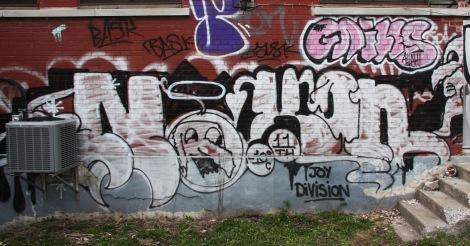 Nixon graffiti in Petite Patrie