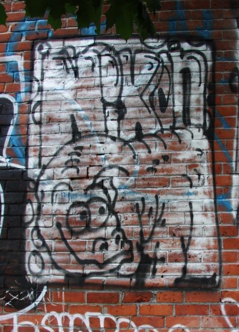 Nixon graffiti in the Plateau