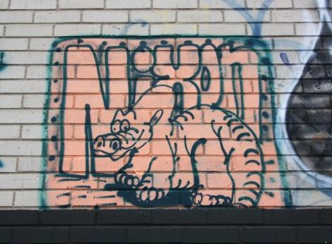 Nixon piece found in an Ahuntsic alley