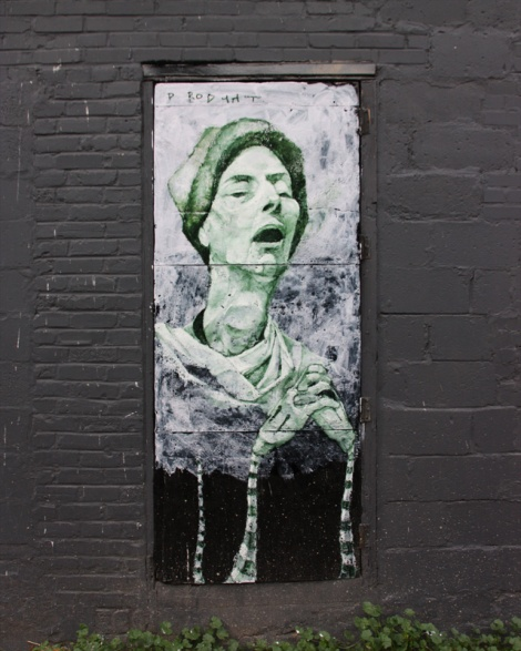 Alex Produkt On a Mile End alley door