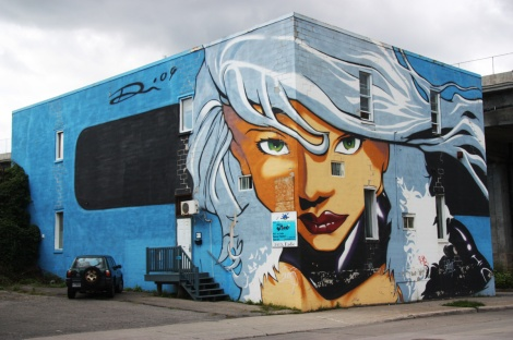 3-wall mural by Tha Plash on Eadie (2/3 wall visible in this photo)
