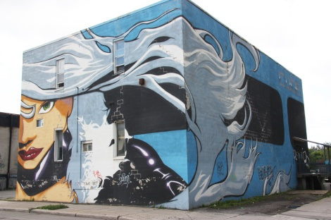 3-wall mural by Tha Phlash on Eadie (2/3 wall visible in this photo)