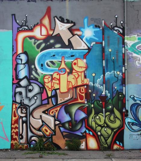 Guko mural on Gilmore