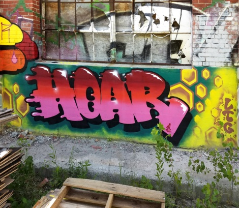 Hoar at the Brigade B7 production