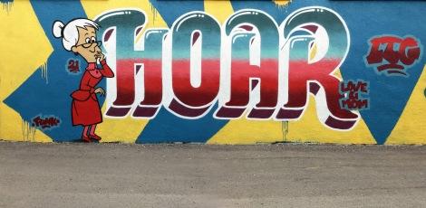 Hoar in a Hochelaga alley