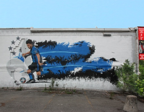 Hoar piece for the 2017 edition of Mural Festival
