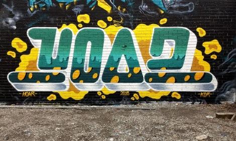 Hoar in a Plateau alley