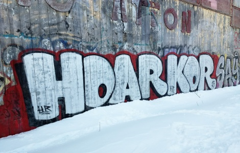 Huge throw by HoarKor aka HRKR in Mile End