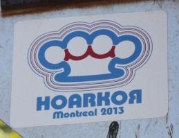 HoarKor sticker