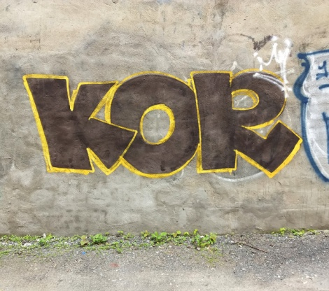 Kor throw found in Mile End
