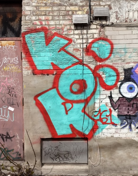 Kor throw in a Mile End alley
