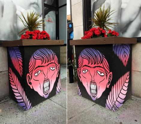 Mono Sourcil for the 2018 edition of MTL En Arts