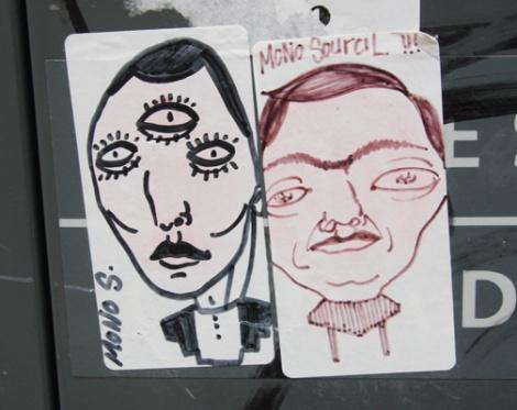 Mono Sourcil stickers