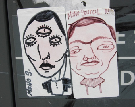 Mono Sourcil stickers
