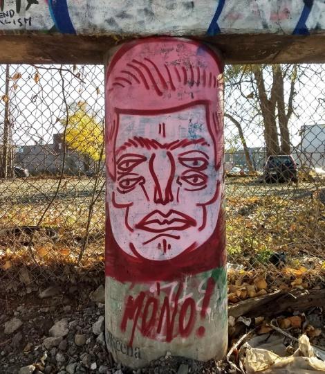 trackside piece by Mono Sourcil