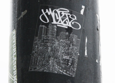 sticker by unidentified artist
