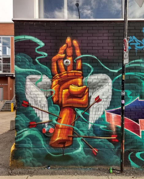 a small piece by Monk.e from a prod in St-Henri