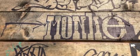 Monk.e on table