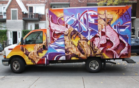 tribute to Scaner on truck side by Monk.e, for the 2017 edition of Hip Hop You Don't Stop