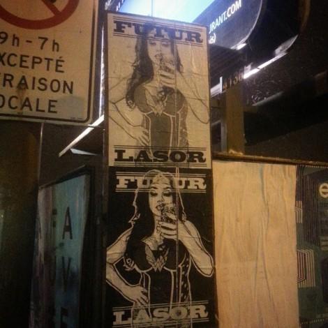 Futur Lasor Now posters; photo © Futur Lasor Now